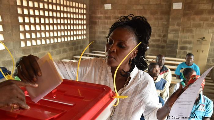 Afrika Wahlen in Zentralafrika