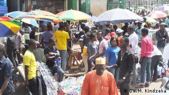 Kamerun Geschäftszentrum Avenue Kennedy