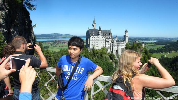 Castle Neuschwanstein +++(c) dpa - Bildfunk+++