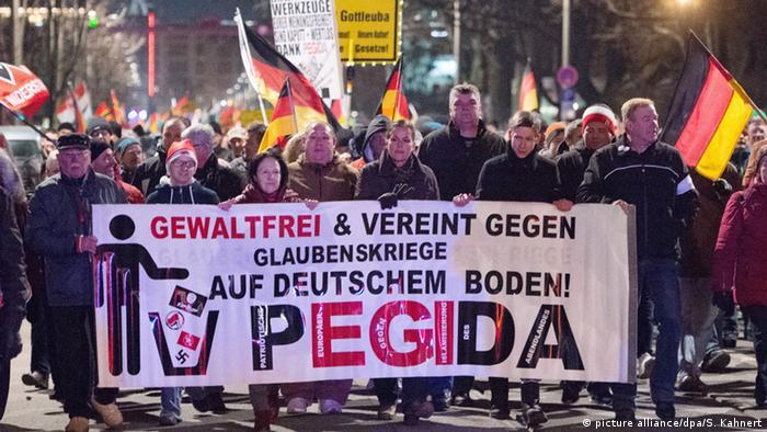 Deutschland Pegida (picture alliance/dpa/S. Kahnert)
