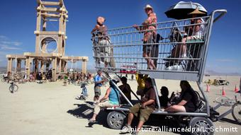 Burning Man Festival 2007, Copyright: dpa - Report