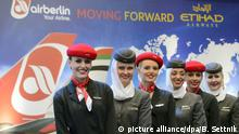 Deutschland Air Berlin und Etihad Airways Berlin