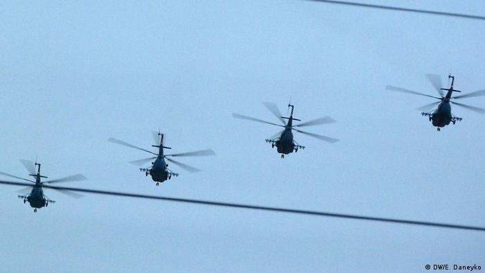 в Беларуси на Оршанском авиаремонтном заводе ремоторизируют старые вертолеты