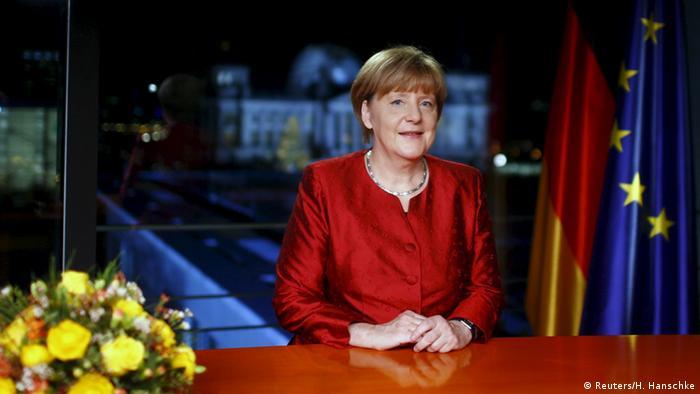 Bundeskanzlerin Angela Merkel Neujahrsansprache