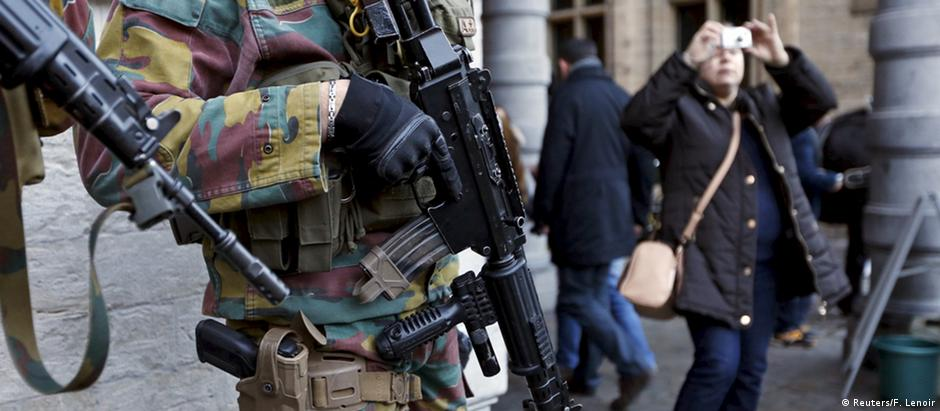 Bruxelas cancelou as festividades de Ano Novo