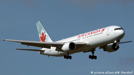Passagierflugzeug Boeing 767-200 der Air Canada (picture-alliance/W. Mendorf)
