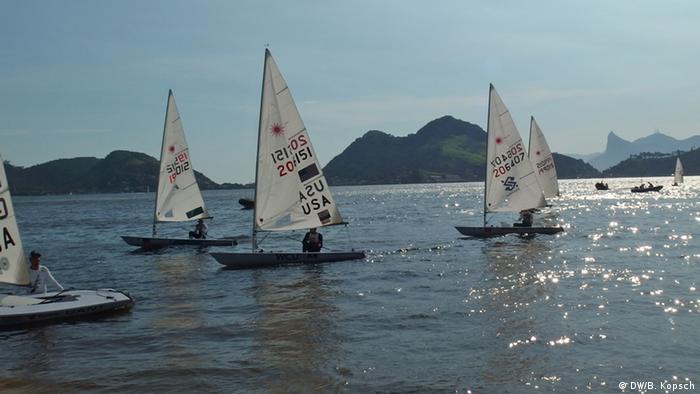 Sailing in Guanabara Bay, Rio de Janeiro