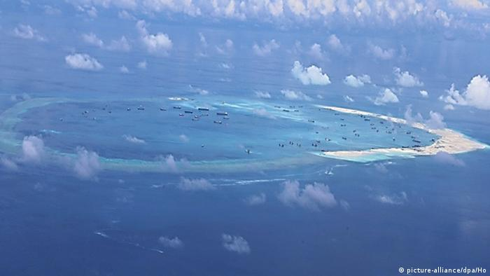 China Inseln Süd China Meer