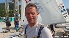 Segler Robert Scheidt, Brasiliens erfolgreichster Olympionike Foto: Bianca Kopsch / DW