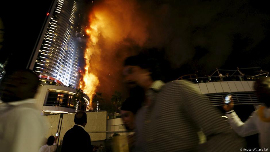 Дубай пожар купить квартиру в реховоте израиль