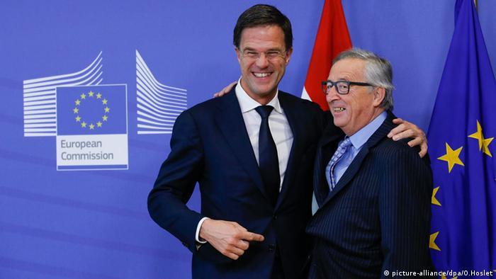 Mark Rutte Jean-Claude Juncker Niederlande EU Ratspräsidentschaft