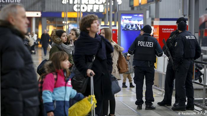Authorities shut down the train station in Munich in response to the threat