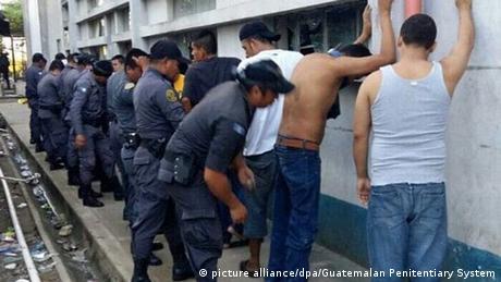 Guatemala Gefängnisrevolte