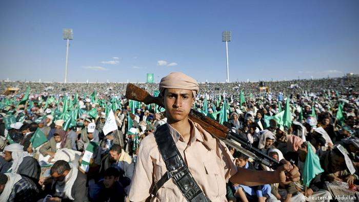 Jemen Sanaa Huthi Kämpfer