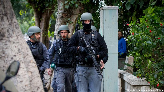 Israeli police are searching for a gunman in Tel Aviv (Photo: Picture Alliance)