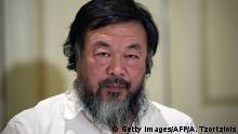 Griechenland Athen Ai Weiwei PK Flüchtlingsaktion