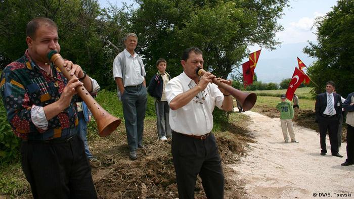 Mazedonien Folkloremusik-Fest bei Tetovo