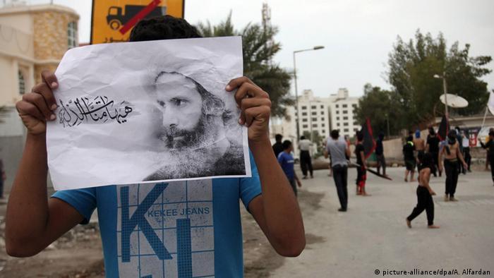 Bahrain Protest Hinrichtung Scheich Nimr al-Nimr in Saudi Arabien