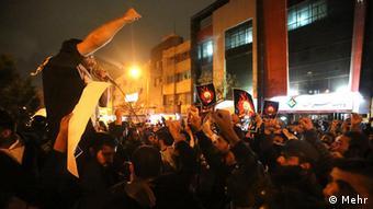 Saudi Arabien Embassy Iran Protest