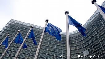 Здание Еврокомиссии в Брюсселе, архив