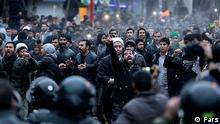 Iran, Protest nach Hinrichtung eines Geistlichen