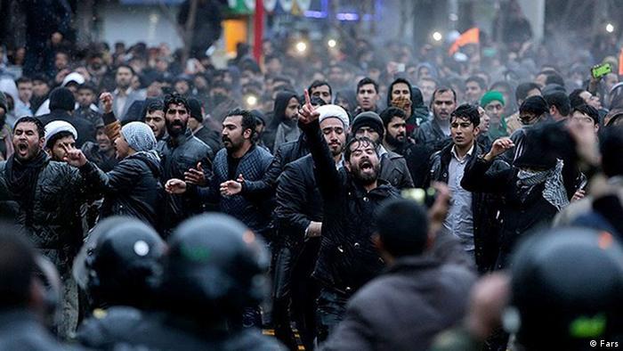 Протести в Ірані, 3 січня