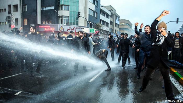 В іранському Мешхеді правоохоронці застосували водомети проти демонстрантів