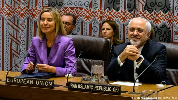 EU foreign policy chief Federica Mogherini was involved in the nuclear accord with Iran in 2015