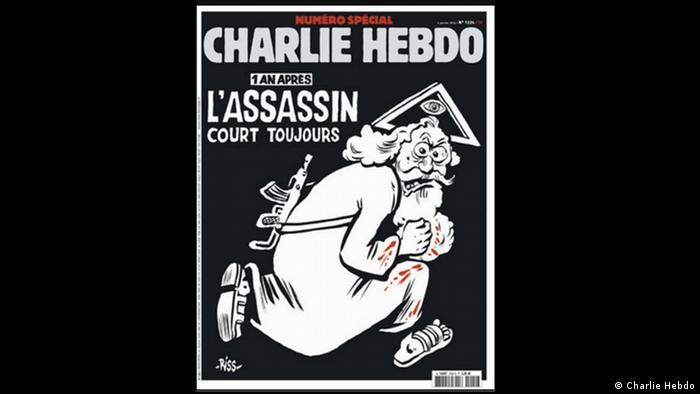 Frankreich Charlie Hebdo Cover der neuesten Ausgabe vom 6. Januar