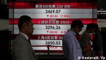 China Börsencrash Hong Kong