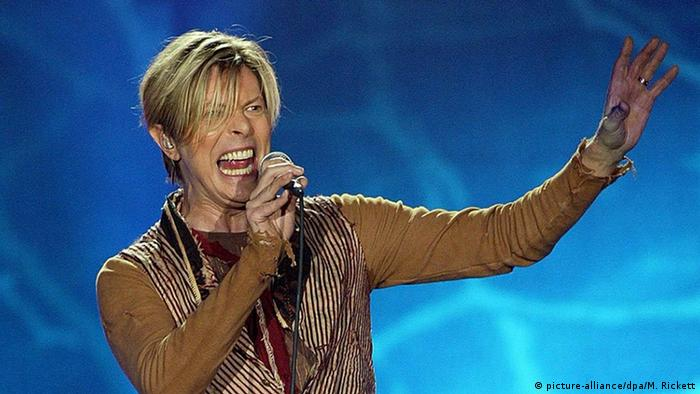 David Bowie Konzert bei in Manchester (Foto: picture alliance).