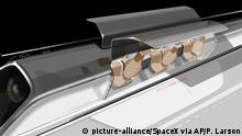 Hyperloop Transportsystem Projekt von SpaceX & Elon Musk