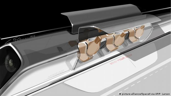 Hyperloop Transportsystem Projekt von SpaceX & Elon Musk