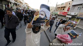 Bahrain Demonstration im Zuge der Hinrichtung des Geistlichen Nimr al-Nimr (Reuters/H. I. Mohammed)