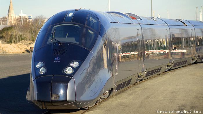 Alstom - Hochgeschwindigkeitszug AGV