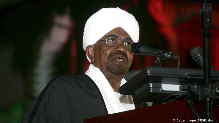 Sudan Omar al-Bashir Präsident (Getty Images/AFP/E. Hamid)