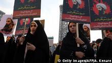 Iran Protest in Teheran gegen Hinrichtung in Saudi-Arabien