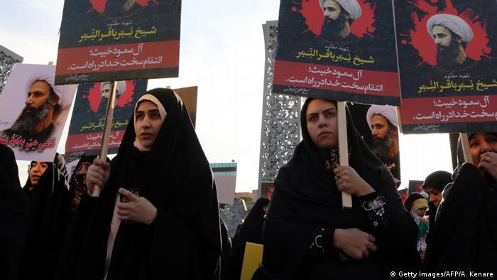 Протесты в Иране после казни в Саудовской Аравии шиитского проповедника