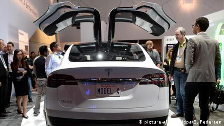 Tesla Model X (picture-alliance/dpa/B. Pedersen)