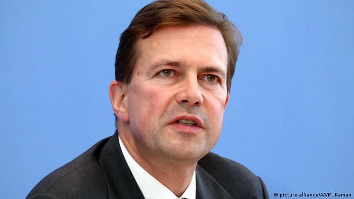 Berlin Regierungssprecher Steffen Seibert