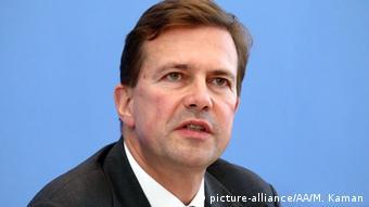 Hükümet sözcüsü Steffen Seibert