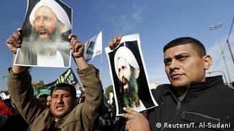 Irak Proteste gegen die Hinrichtung von Nimr Al-Nimr in Saudi Arabien