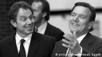 Großbritannien Tony Blair & Gerhard Schröder