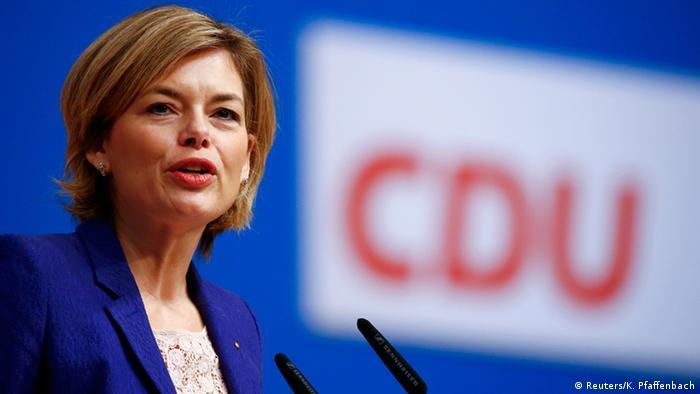 Julia Klöckner (Reuters/K. Pfaffenbach)