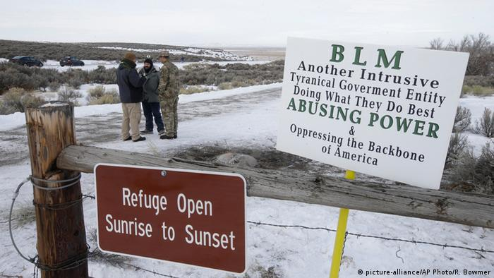 USA Oregon National Wildlife Refuge Besetzung