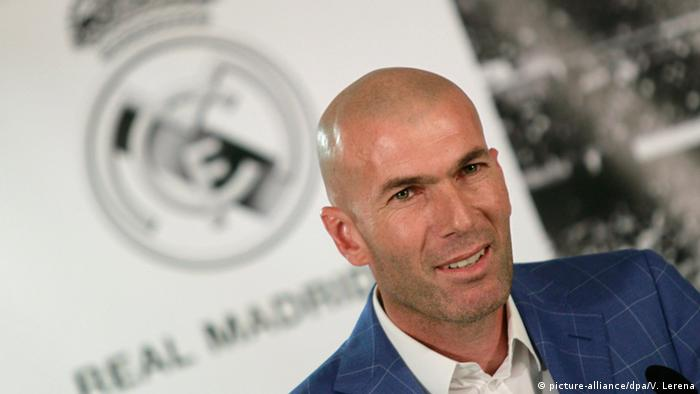 Spanien Zinedine Zidane in Madrid