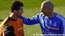 Spanien Zinedine Zidane in Madrid