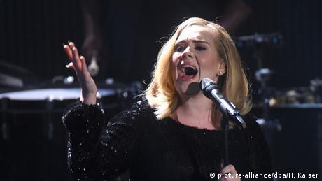 Deutschland Sängerin Adele