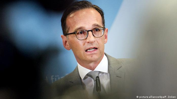 Deutschland Bundesjustizminister Heiko Maas in Berlin (picture-alliance/dpa/P. Zinken)