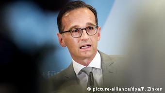 Deutschland Bundesjustizminister Heiko Maas in Berlin